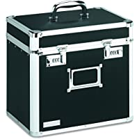 Vaultz Locking File Security Box (Black)
