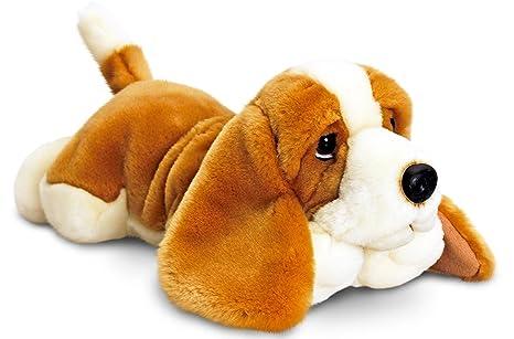 Lashuma Plüschtier Keel Toys peluche perro basset, peluche tumbado aprox. 30 cm