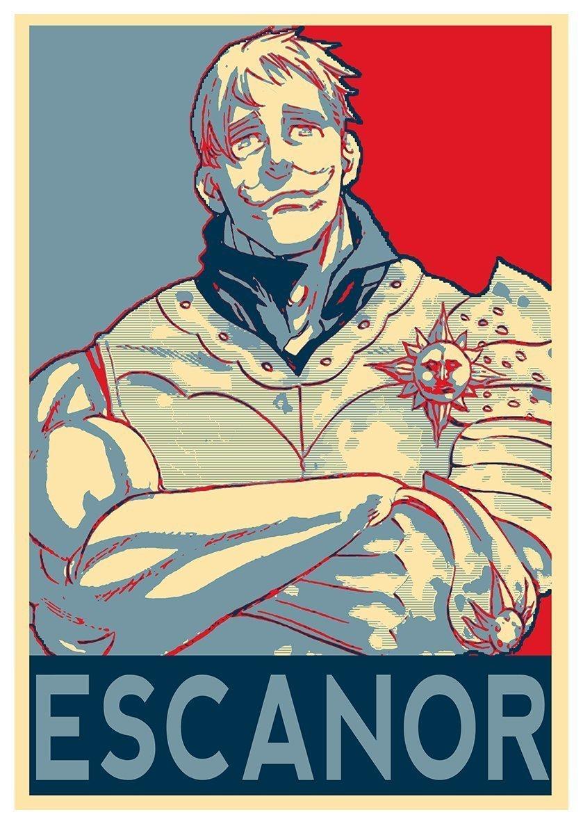 Instabuy Posters Seven Deadly Sins Propaganda Escanor A3