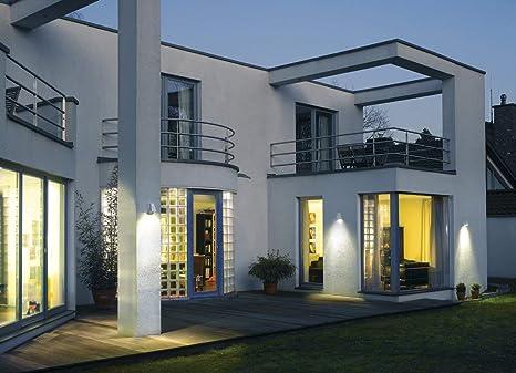 SLVWallyX Wandleuchte Deckenleuchte Aluminium GU10 Hauseingang