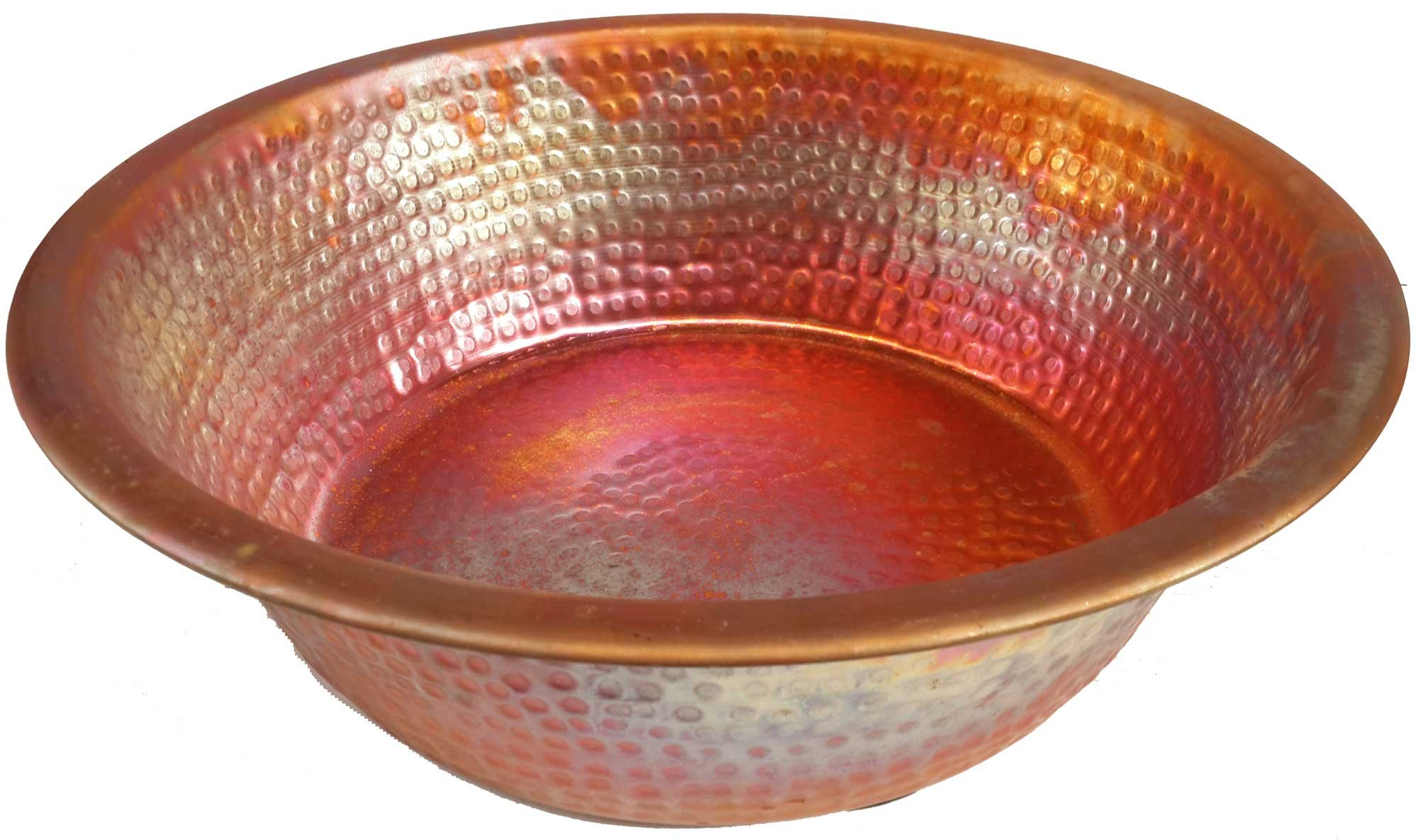 Egypt gift shops HANDMADE Copper Foot Remedy Reflexology Healing Therapy Massage Pedicure Athlete Relaxing Basin