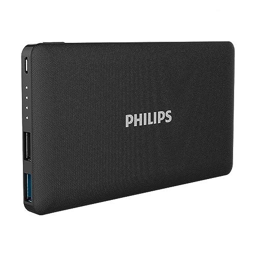 Philips 10,000mAh モバイルバッテリー 2ポート 10000mAh