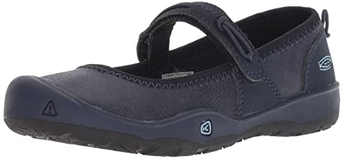 KEEN Moxie Mary Jane Hiking Shoe, Nights/Blue Fog, 4 M US ...