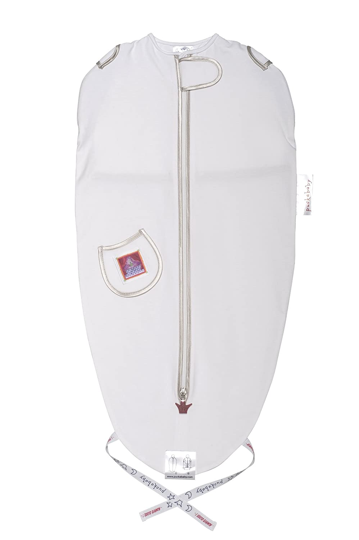 The Original Mini European Made Baby Swaddle Sack, Sleep Bag, Rose, 3-6 m Puckababy 599