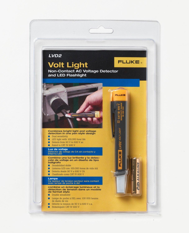 Fluke Lvd2 Volt Light Stud Finders And Scanning Tools Home Improvement Electrical Testers Voltage
