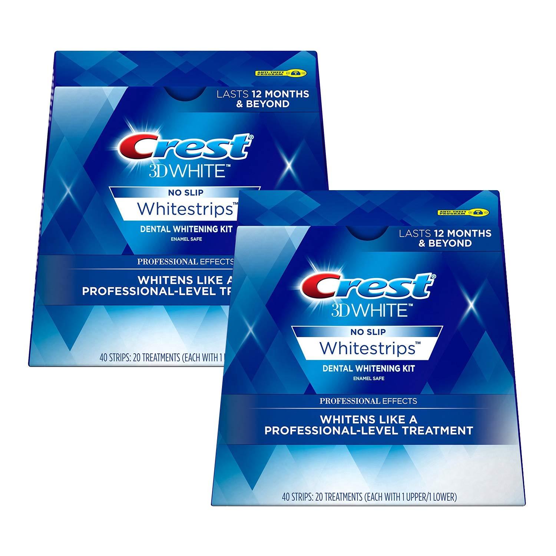 3D White Professional Effects Whitestrips Teeth Whitening Strips Kit