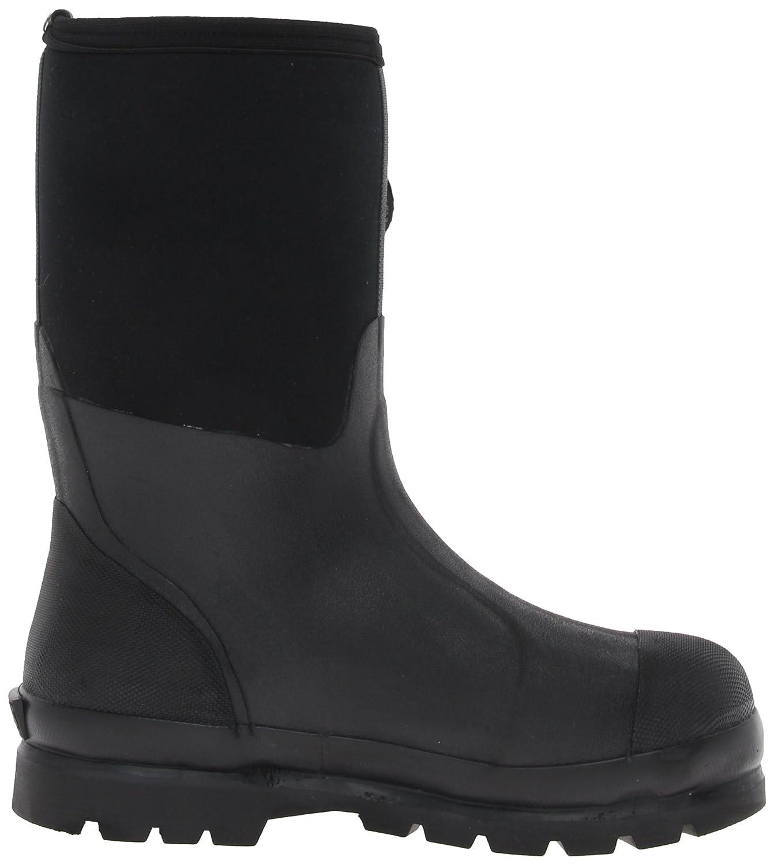 The Original MuckBoots Adult Chore Mid Rain Boot B000WG485K Men's 13 M/Women's 14 M|Black