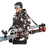 Sklon Ski Strap and Pole Carrier | Avoid The Struggle and Effortlessly Transport Your Ski Gear Everywhere You Go…