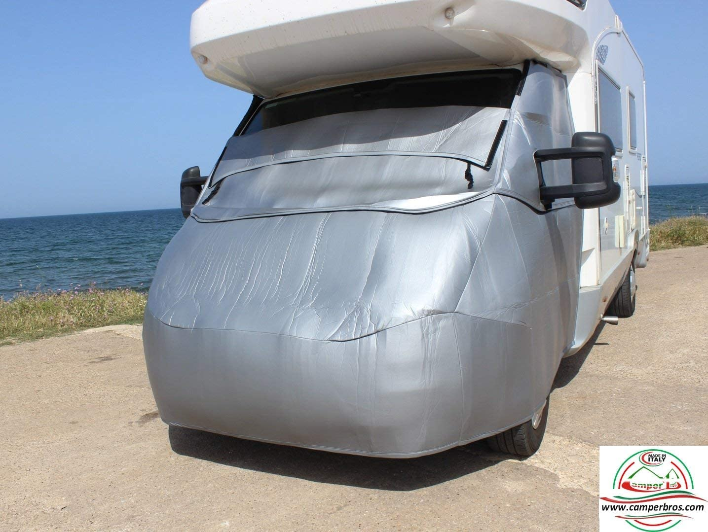 CamperBros Rideaux Isotherme Ext/érieur Camping-Car Transit 2006-2014 Cabine