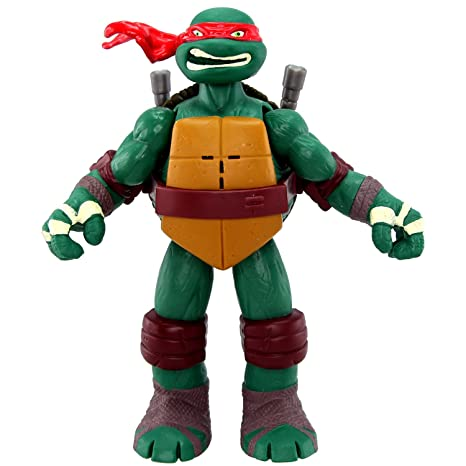 Teenage Mutant Ninja Turtles Powersound Fx - Figura de la tortuga ninja Raphael [importado]