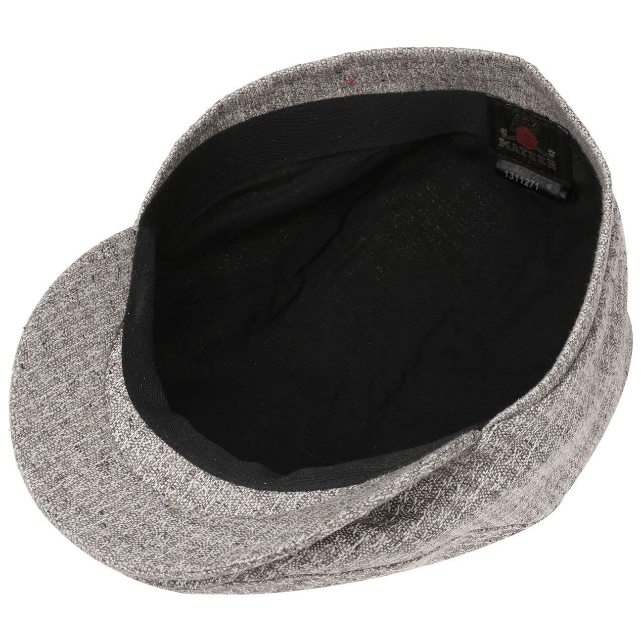 Made in The EU Mayser Seven Exclusive Silk Flat Cap Men