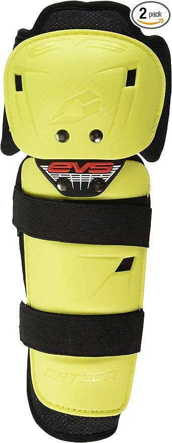 Option Knee Pads Hi-Vis Adult Evs Sports OPTK16-HVY-A