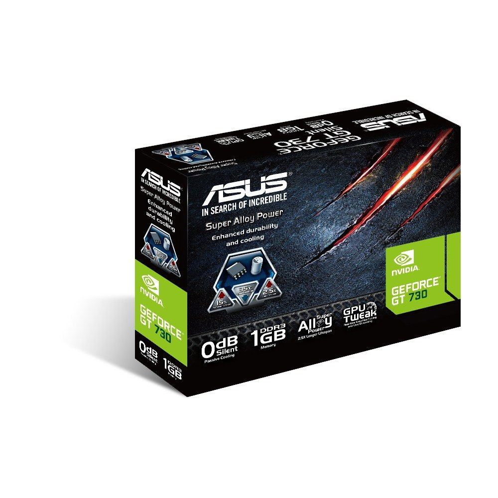 ASUS Graphics Cards GT730-SL-1GD3-BRK by Asus