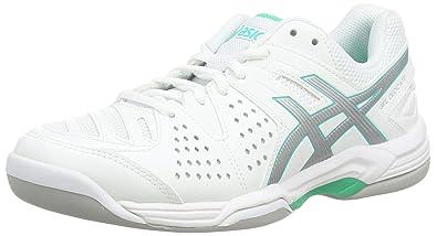 f83fd2949e ASICS Damen Gel-Dedicate 4 Indoor Tennisschuhe: Amazon.de: Schuhe ...