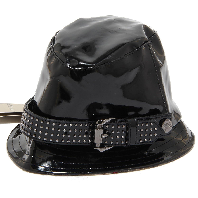 7570I cappello pioggia bimba nero BURBERRY cappelli hats kids