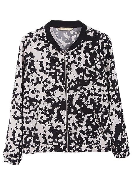 Alralel - Chaqueta de traje - chaqueta - Animal Print - para ...