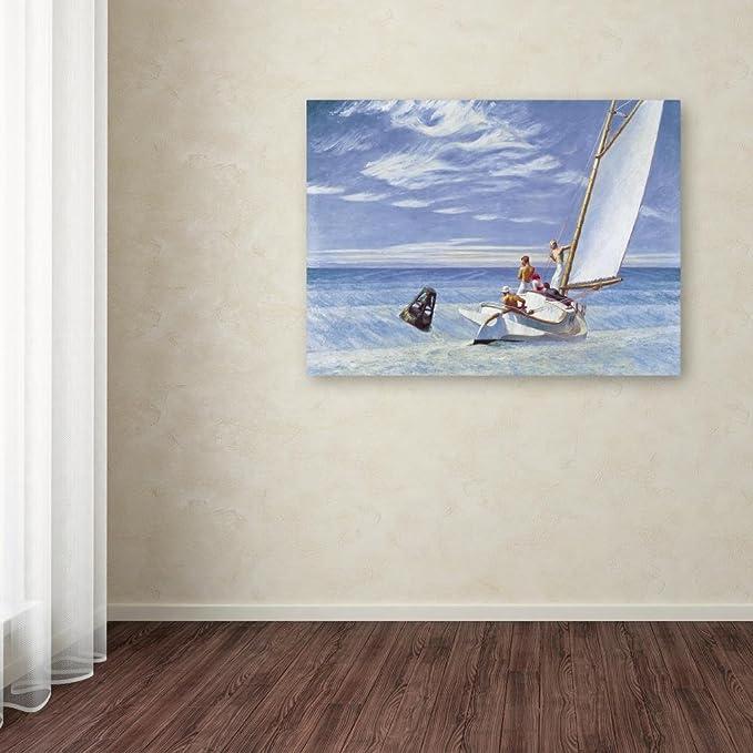 Yall Riding Down a Swell-Edward Hopper  Canvas or Print Wall Art