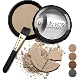 Eyebrow Powder - Natural Fill-in Eyebrow Makeup – Brow Power Water Resistant Includes Small