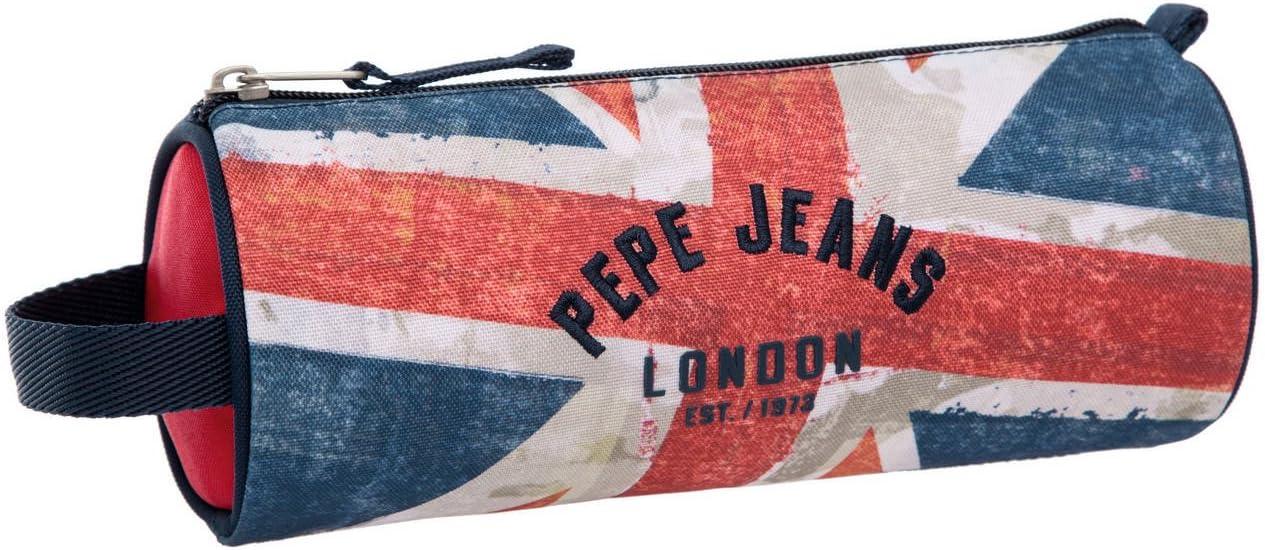 Pepe Jeans Estuche Niño, Diseño London Bandera: Amazon.es: Equipaje