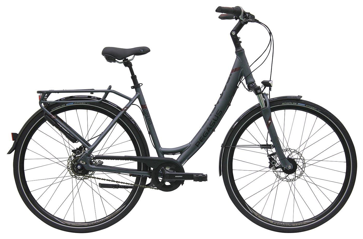 Damen City Fahrrad 28 Zoll - Pegasus Opero SL - 8 Gänge ...