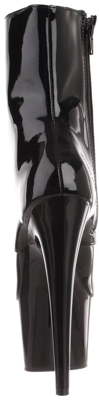 Pleaser Women's Adore-1020/B/M Boot B000YQVKJK 11 B(M) US|Black Patent
