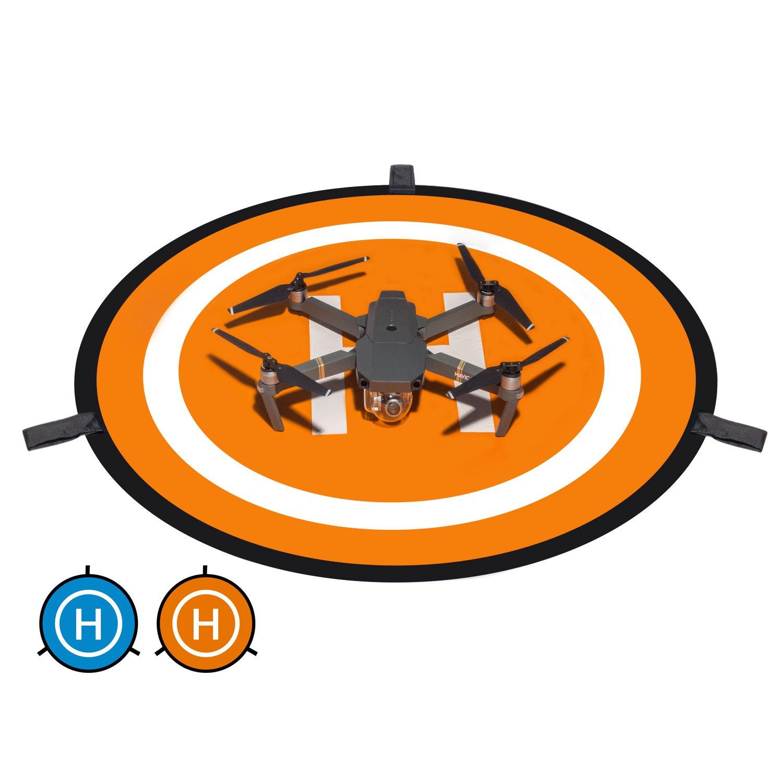 Kupton DJI Mavic Pro Landing Pad, Drone Quadcopter Landing Pad 30'' Waterproof Foldable Portable Helicopter Launch Pad Mavic Air, DJI Mavic Pro, DJI Spark, DJI Phantom 4/4 Pro More