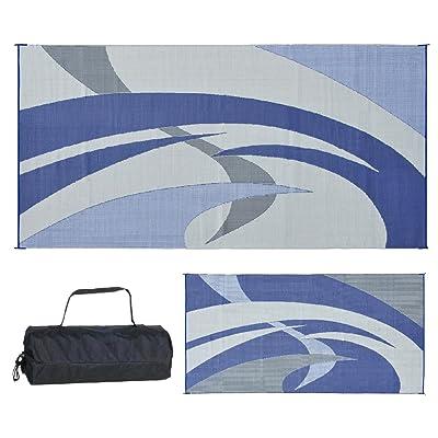 Reversible Mats Blue/Grey