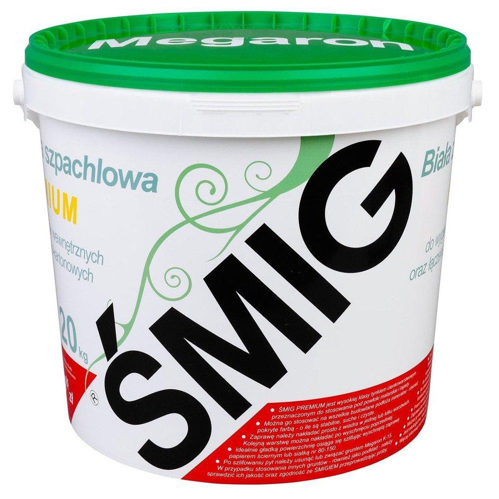 Fertigspachtel Smig Megaron Finish 20kg Eimer Q2/Q3/Q4 Spachtelgips Gipsspachtel