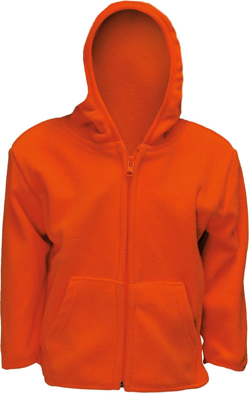 Infant Blaze Orange Full Zip Safety Hunting Sweater