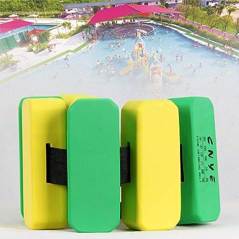 Silfrae Swim Belt Floatation Belt Swimming Training Aid Belt Swim Foam Waist Belt for Kids Adult