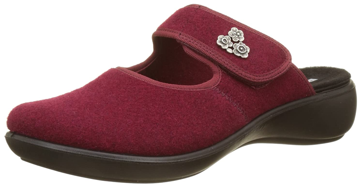 ROMIKA Ibiza Home Femme 330, Chaussons Mules 330, Femme Rouge (Bordo B075WNW7C7 410 410) aeec5a2 - fast-weightloss-diet.space