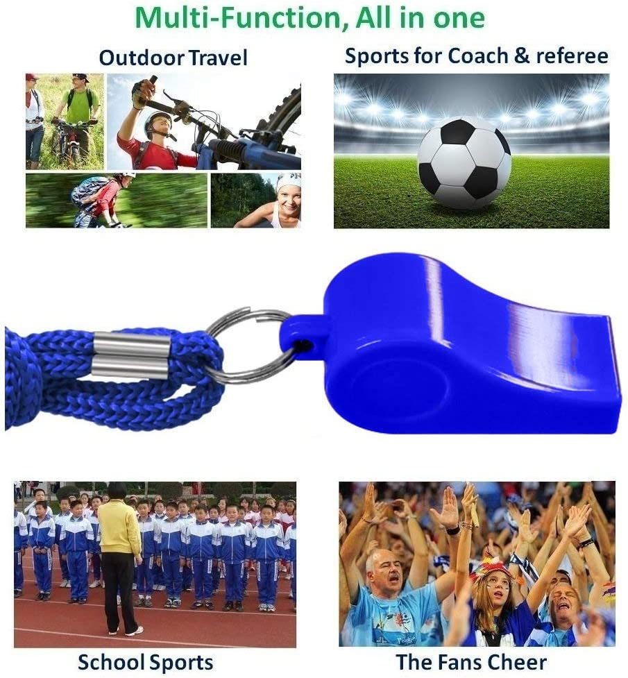 Details about  /Sports Referee Whistle Emergency Survival Kit Lanyard For Soccer Outdoor FB