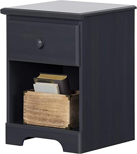 South Shore Summer Breeze Collection Nightstand – Blueberry