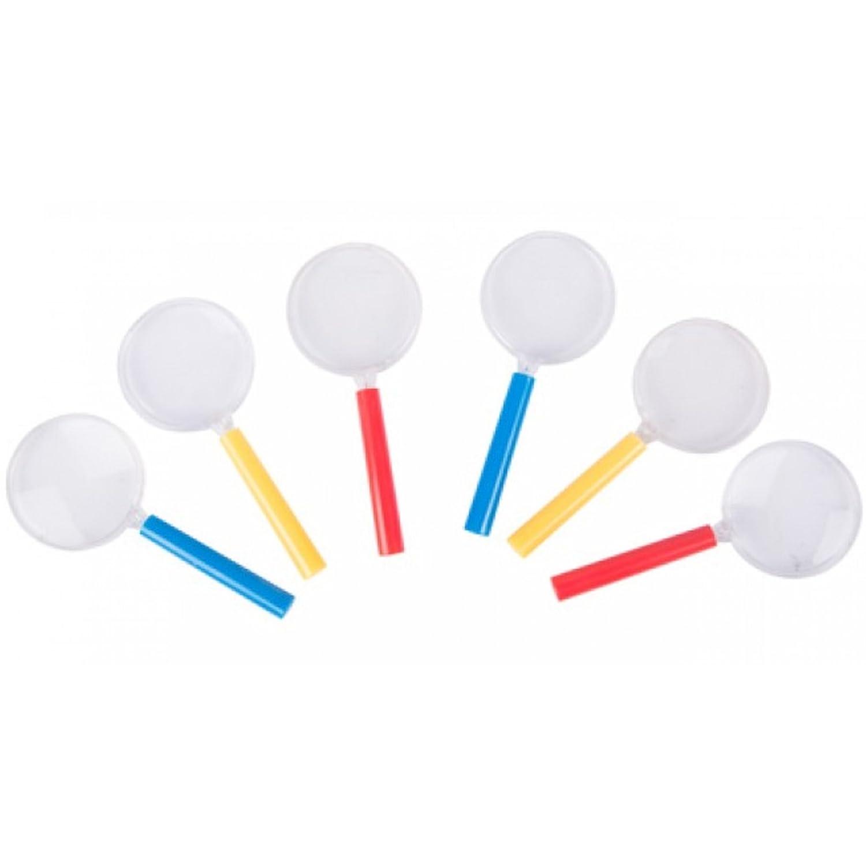 6er Set Lupe Vergrößerungsglas je ca. 10, 5 x 4, 4 cm Accessories