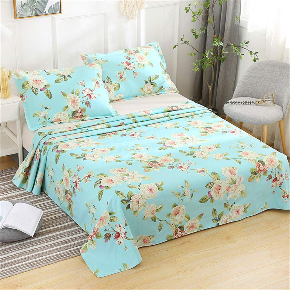 New Summer Cotton Old coarse Cloth Sheets Factory Direct Bed Linen Home Textile Supplies Wholesale one Generation Fives 200230cm by iangbaoyo