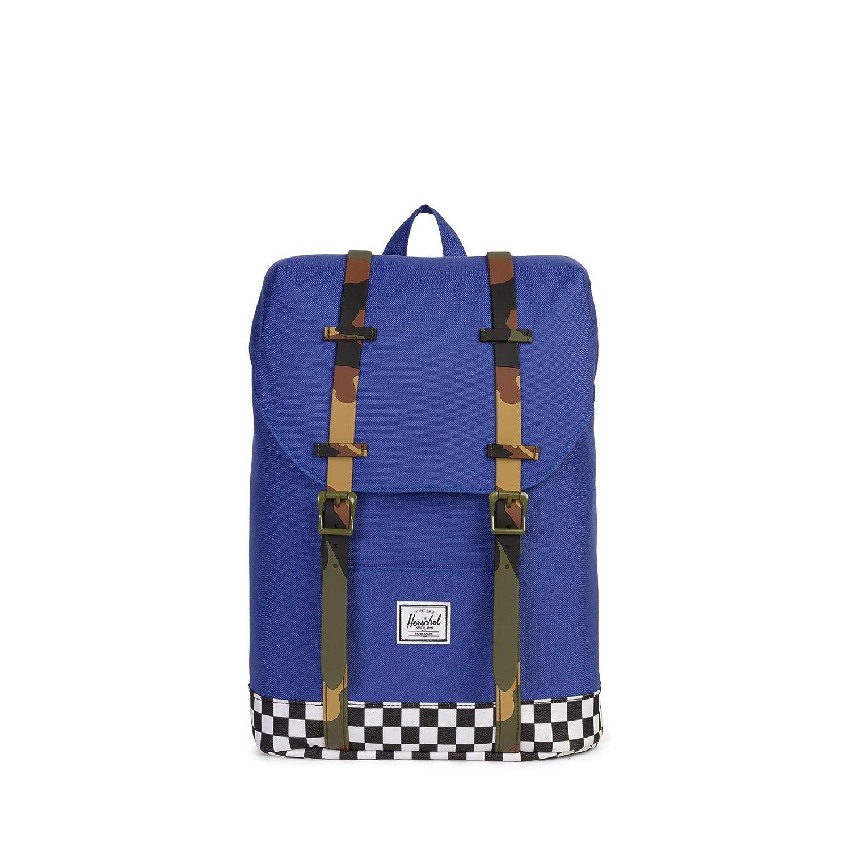 Amazon.com | Herschel Kids Retreat Youth Backpack, Deep Ultramatine/Checker/Woodland Camo One Size | Kids Backpacks