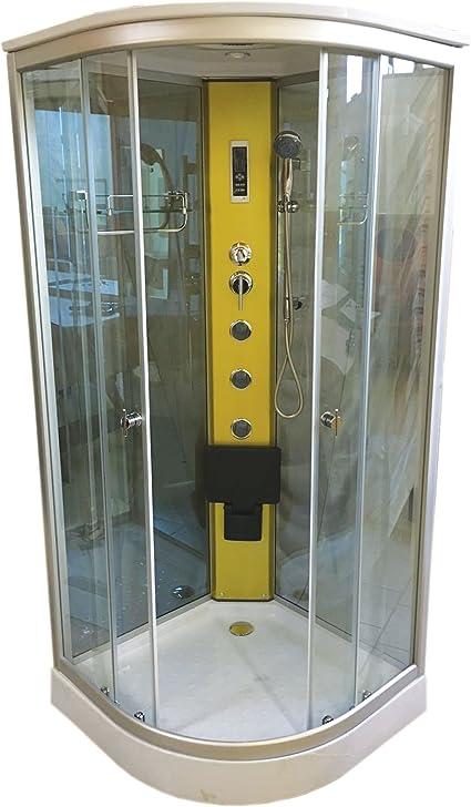 DUCHA CABINA DE HIDROMASAJE Modelo Hollywood 00 x 100 cm NUEVA SPA ...