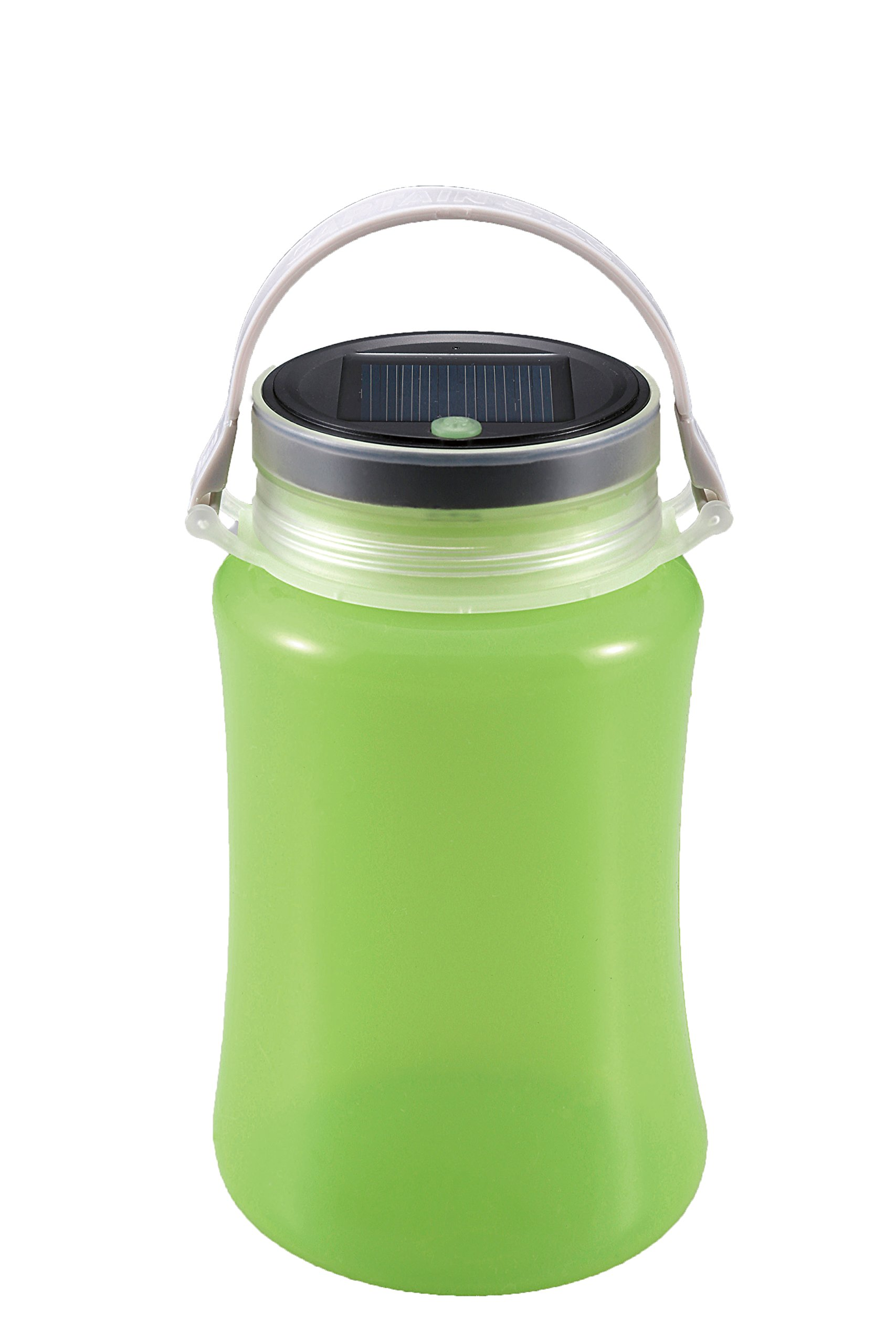 Captain Stagg (CAPTAIN STAG) floating LED lantern Solar & USB Rechargeable Green UK-4013