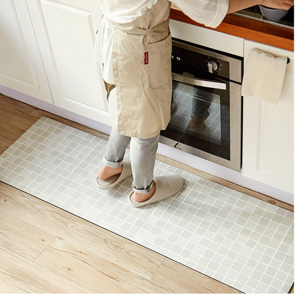 Beige 17.7'' X 31.5'' Ustide Accent Kitchen Rug with Latex Backing,17.7 x70.9  Creative Food