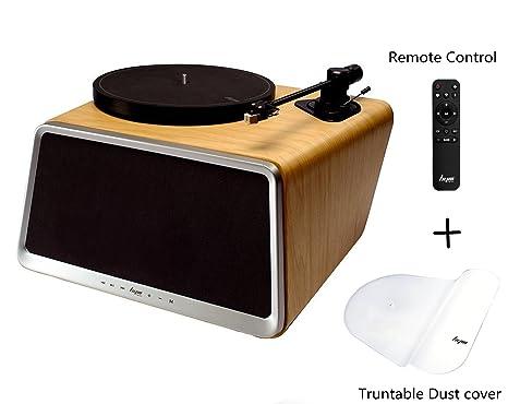 Tocadiscos de Vinilo, HYM SEED Smart Vinyl Records Plato giratorio ...