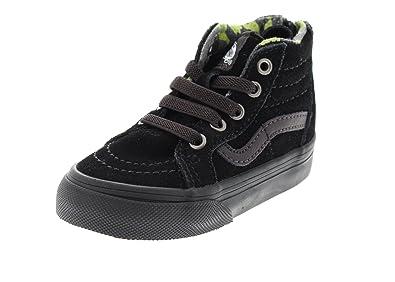 VANS Kids Sneaker - SK8-HI ZIP MTE - black lime, Tamaño:20 EU