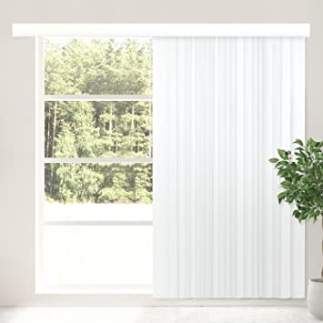 CHICOLOGY Cordless Vertical Blinds Patio Door Or Large Window Shade,  78u0026quot; W X 84u0026quot;