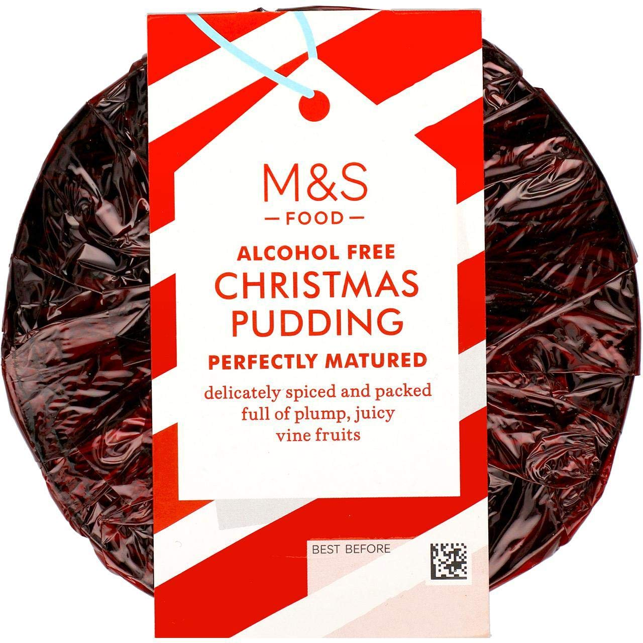 Marks and Spencer Alcohol Free 6 Months Matured Christmas Pudding 454g - Serves 4