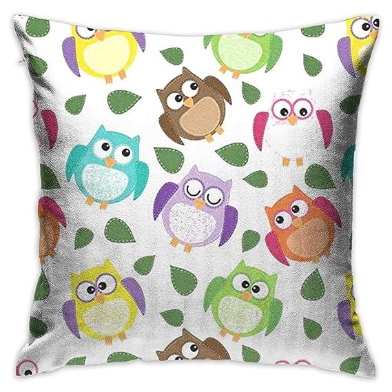 FPDecor Funda de Almohada, Throw Pillow Cover Hipster Cute ...