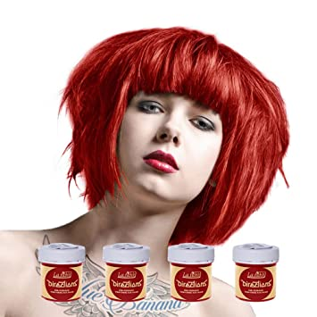 Haarfarbe rot halt nicht