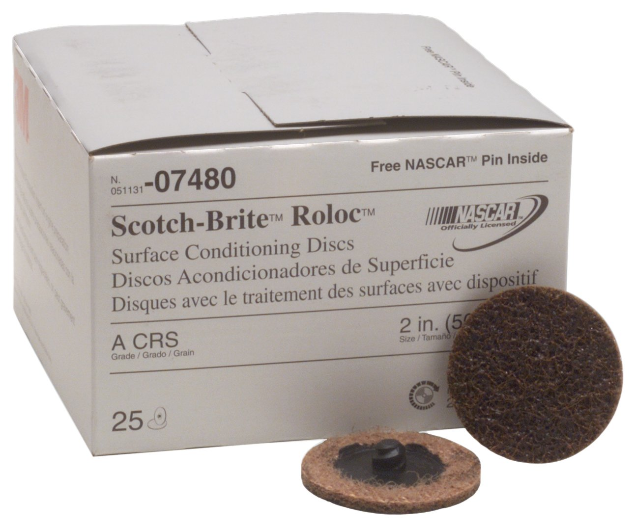 3M 07480 Roloc 2'' Coarse Surface Conditioning Disc