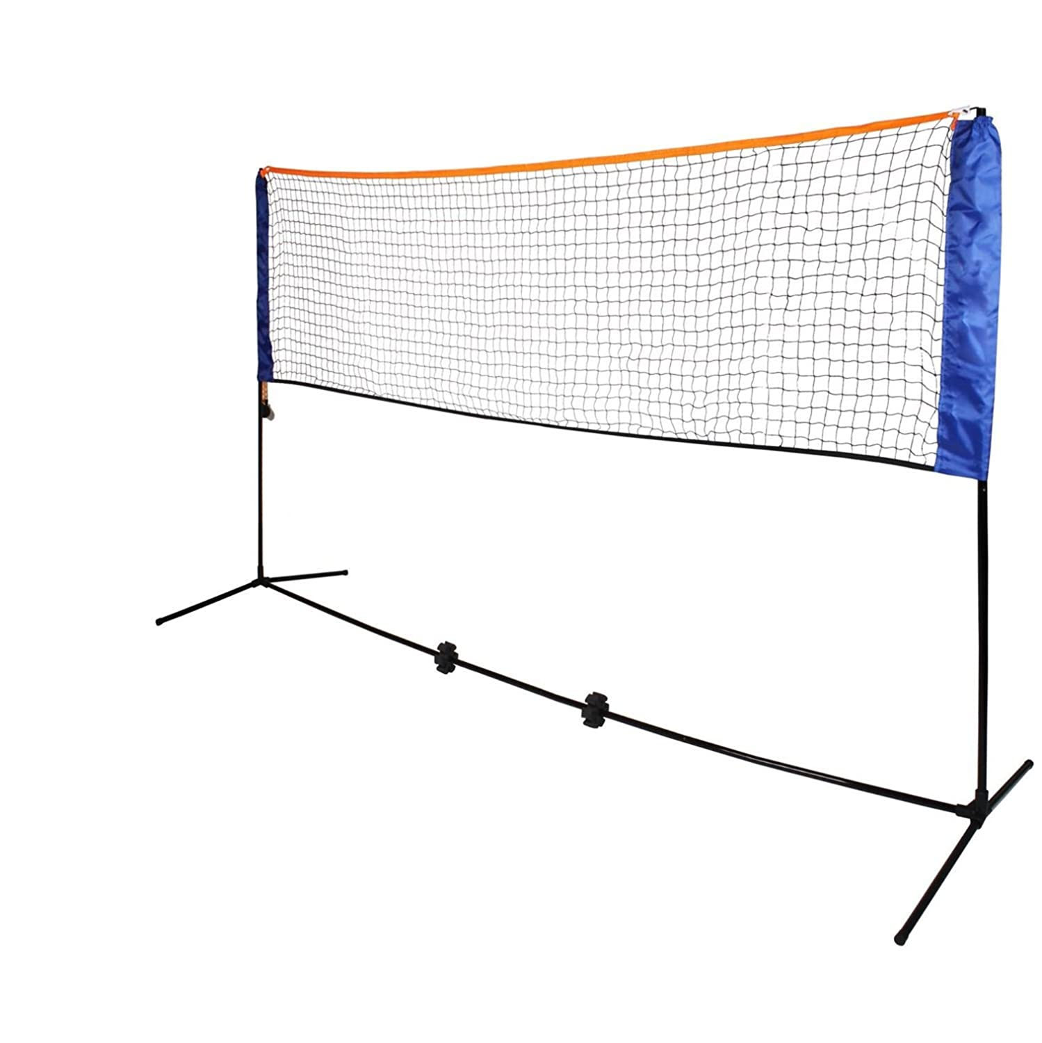 Oypla Small 3m Adjustable Foldable Badminton Tennis Volleyball Net 3129OYP