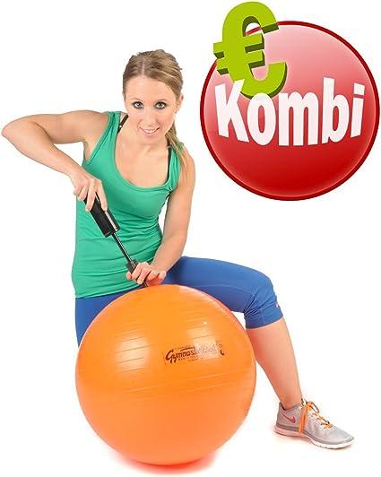Schale Pezzi Ball Gymnastikball Standard alle Farben auch mit Pumpe