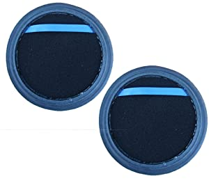 2 Eureka Upright Vacuum Cleaner Washable Allergy DCF-25 Dust Cup Filter #67600 82982-1 82982-2