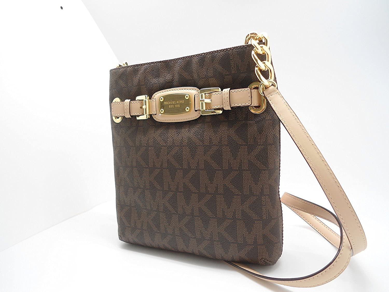 1b838aa91062 MICHAEL Michael Kors Hamilton Large Crossbody MK Sig PVC: Amazon.in: Shoes  & Handbags